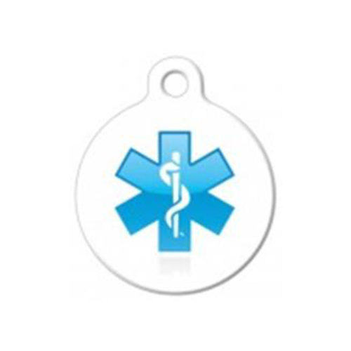 Fancy Pets Placa Caduceus Medical