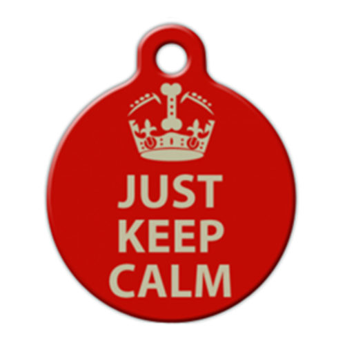 Fancy Pets Placa Just Keep Calm