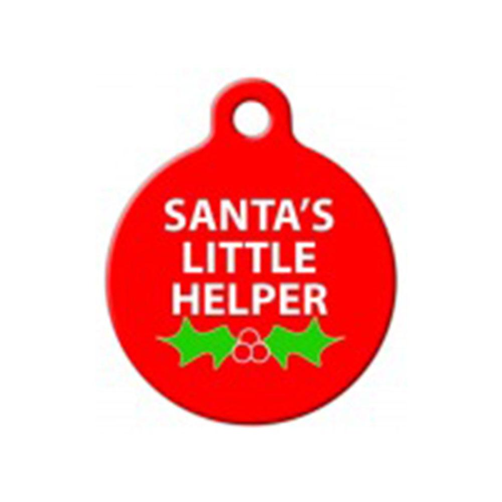 Fancy Pets Placa Santa's Little Helper