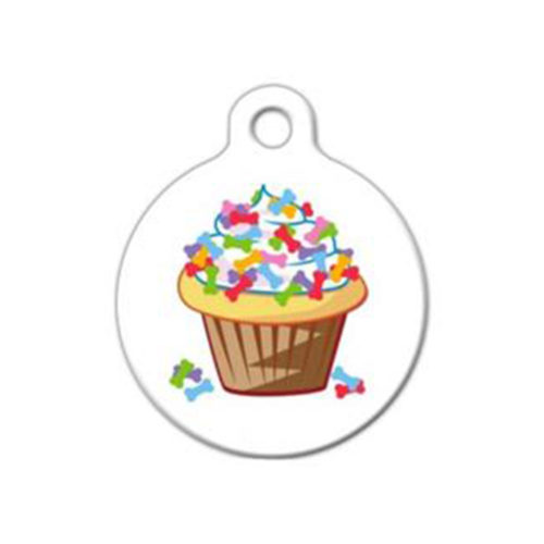 Fancy Dogs Placa Cupcake With Bones