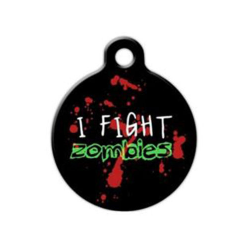 Fancy Pets Placa I Fight Zombies
