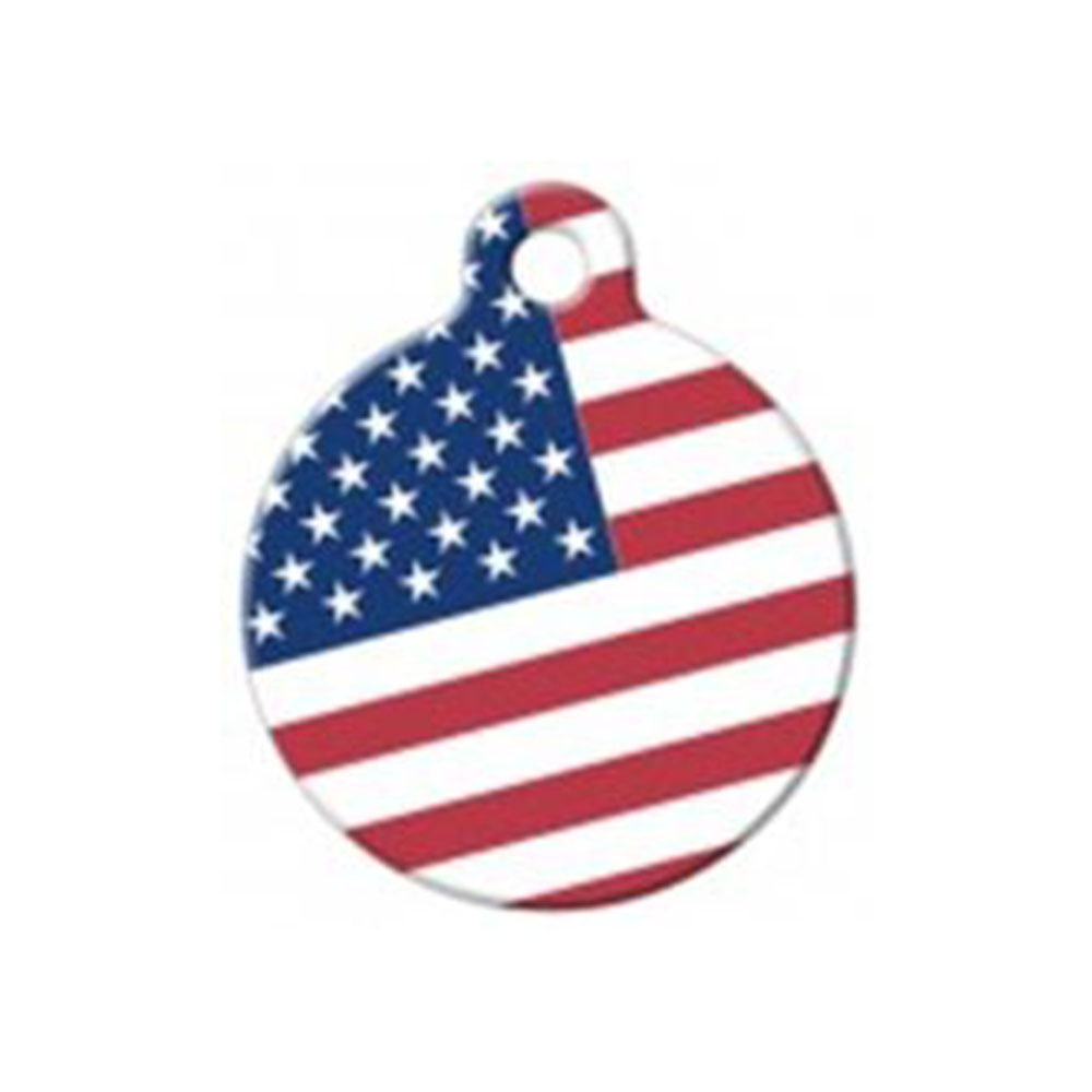 Fancy Pets Placa American Flag