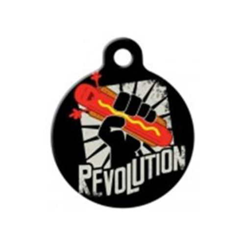 Fancy Pets Placa Hot Dog Revolution