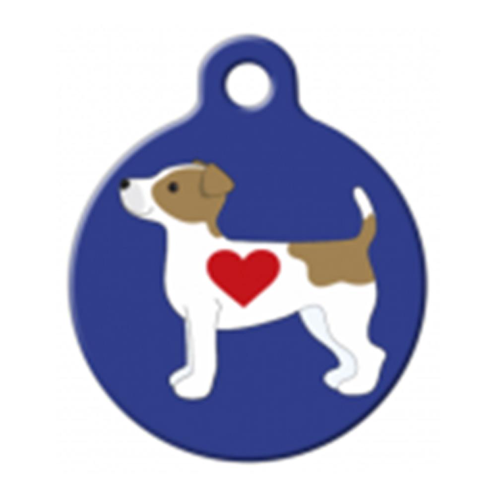 Fancy Pets Placa Jack Russell Terrier Pup