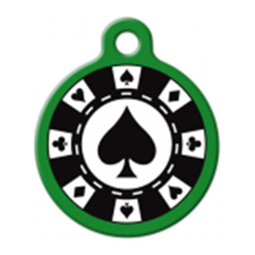 Fancy Pets Placa Poker Chip