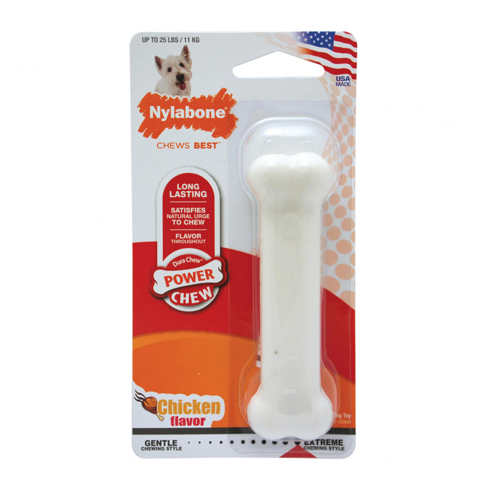 Nylabone Durachew Power Chew Hueso Regular Chicken