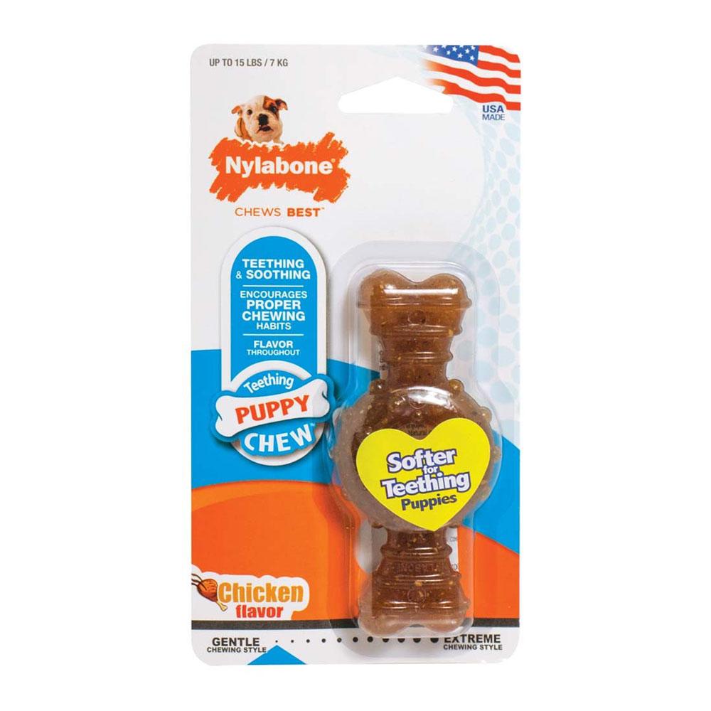 Nylabone Teething Puppy Chew Anillo Petite