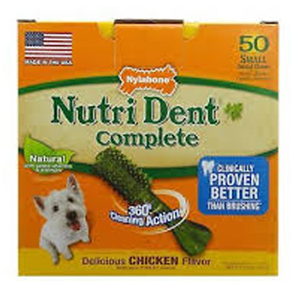 Nylabone Nutri Dent Hueso Small Chicken 1 unid.