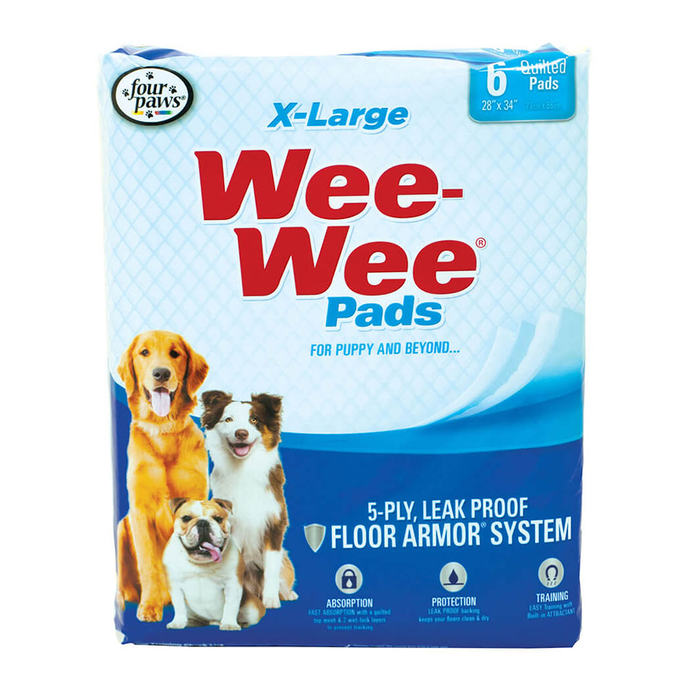 Four Paws Wee Wee Pads Alfombra XL 6 unid.