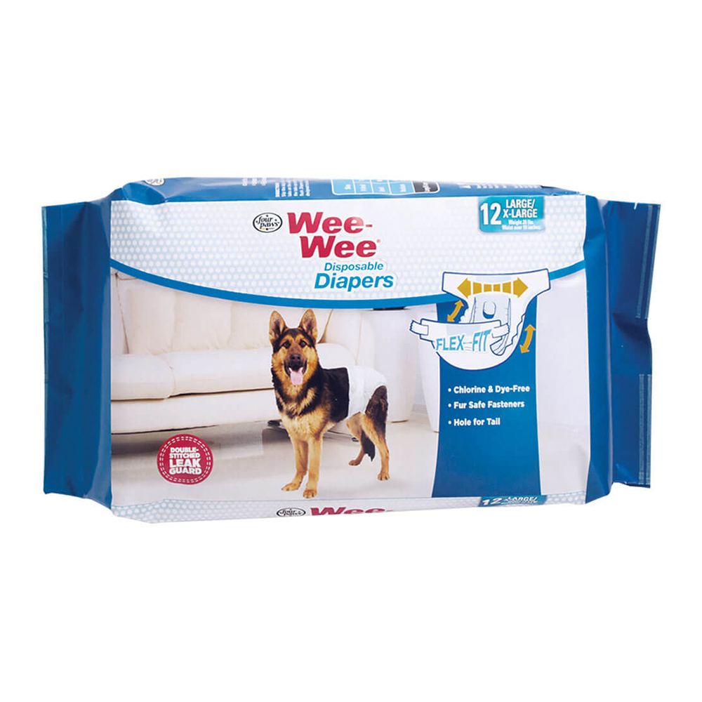Four Paws Wee Wee Pañal Hembra Disposable 12 unid.