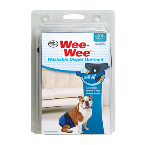 Four Paws Wee Wee Pañal Washable Garment