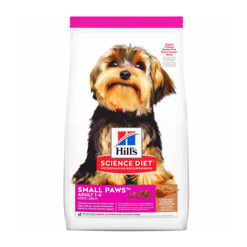Hills SD Canine Adult Small Paws Lamb & Rice