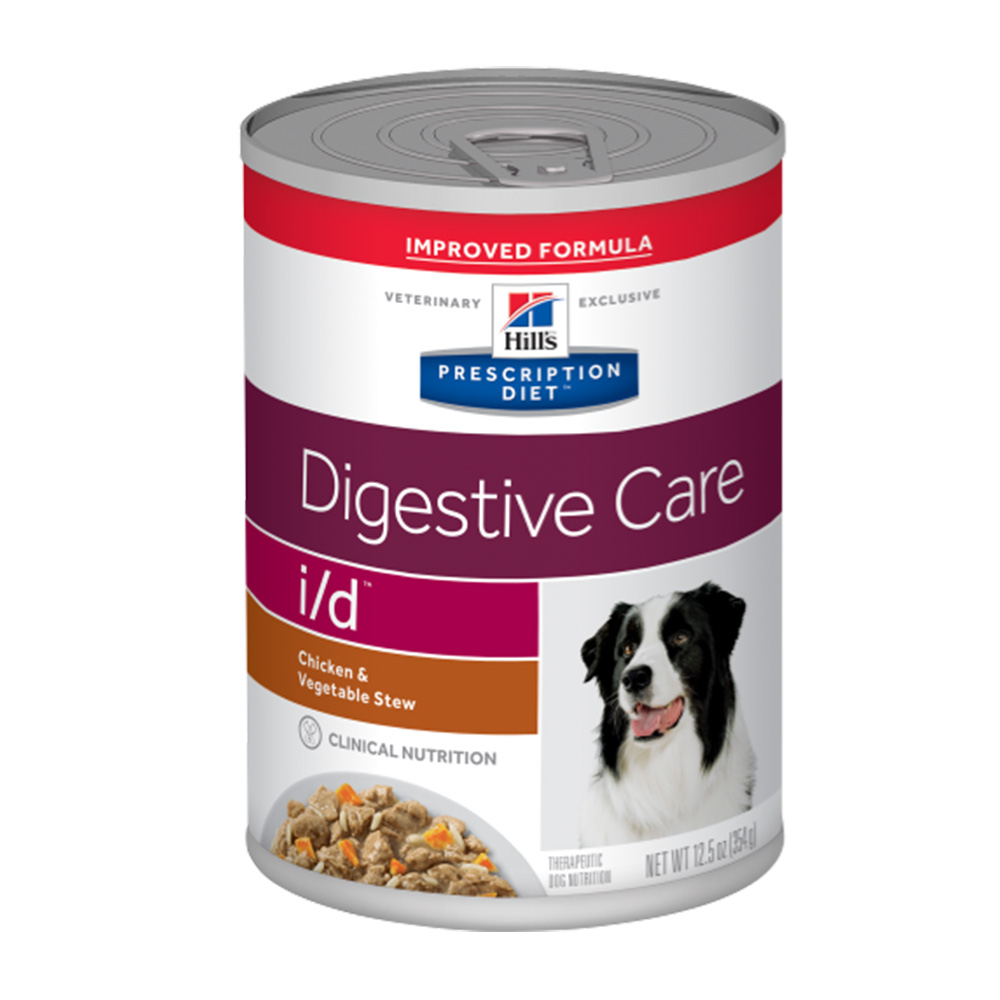 Hills PD Canine i/d Digestive Care Chicken & Vegetable Stew 354 gr.
