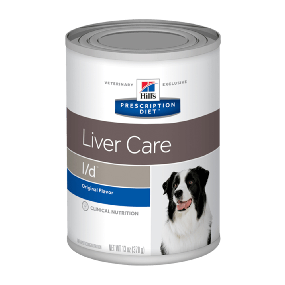 Hills PD Canine l/d Liver Care 370 gr.