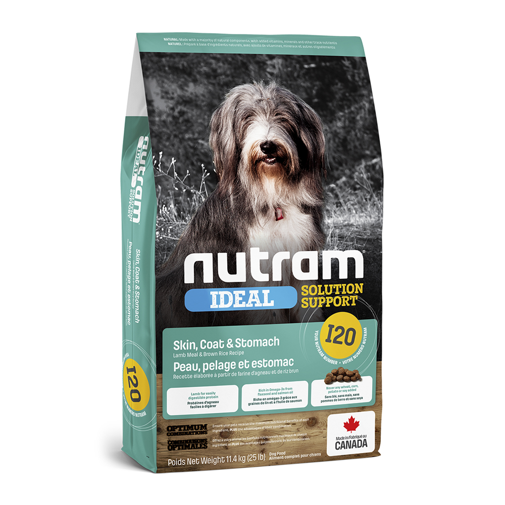Nutram I20 Dog Adult Sensitive Skin Coat & Stomach