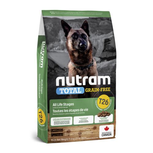 Nutram T26 Dog Adult Lamb & Lentils