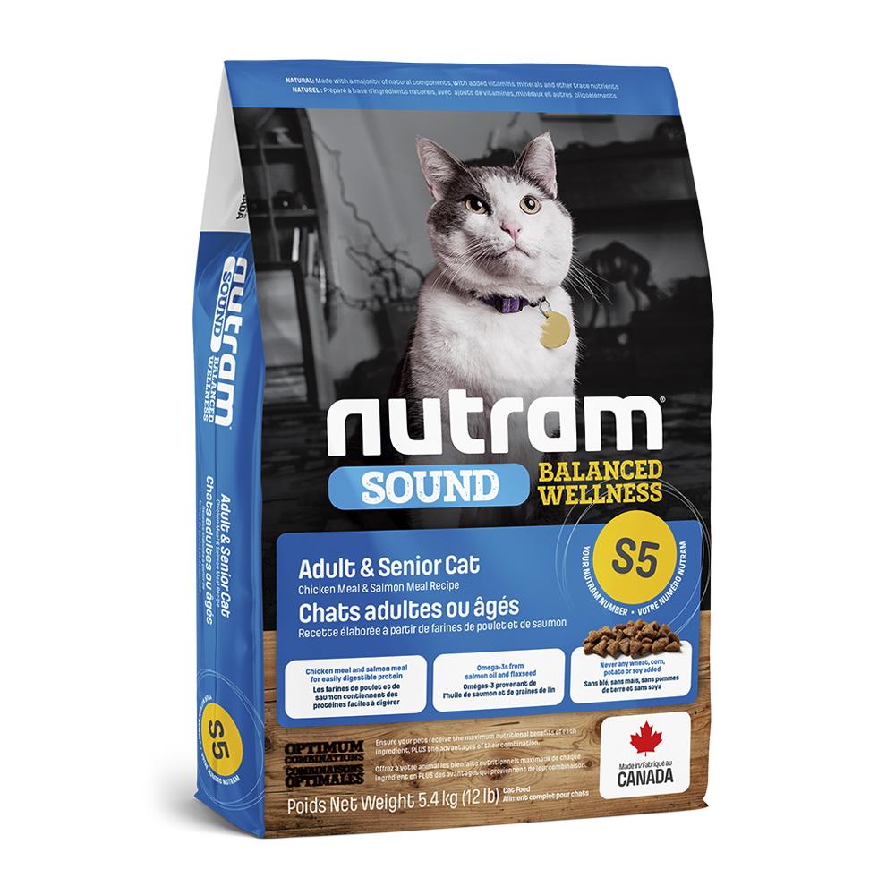 Nutram S5 Cat Adult & Senior