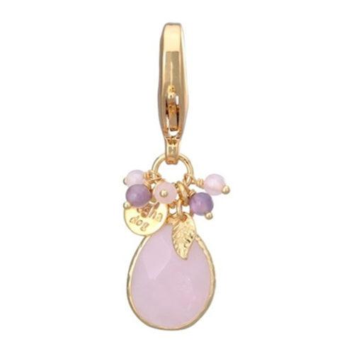 Dosha Amuleto Faceted Pink Quartz