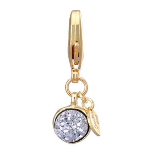 Dosha Amuleto Silver Druzy