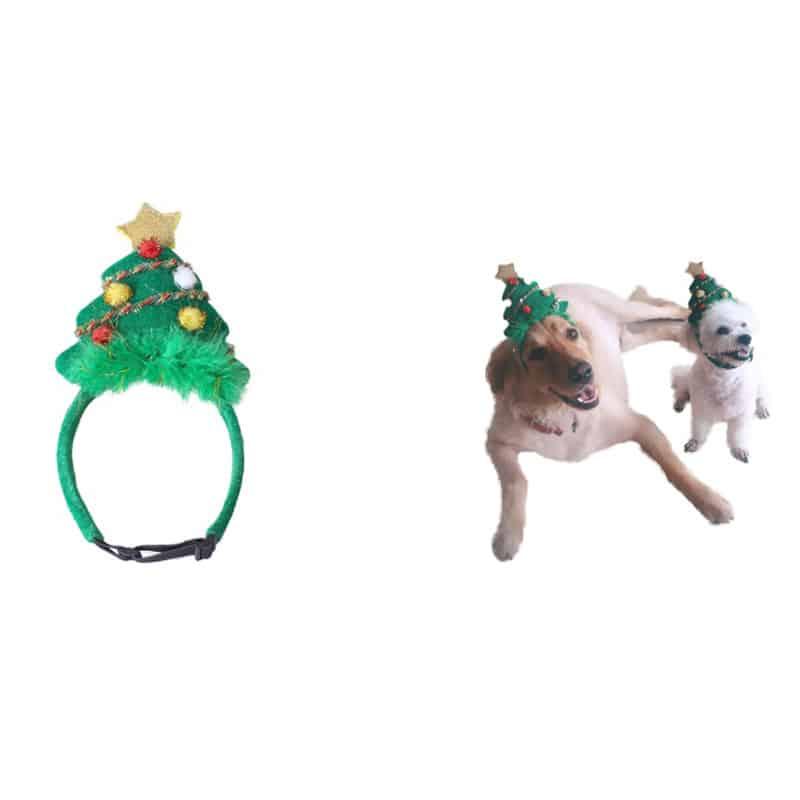 Fancy Pets Vincha Arbol De Navidad