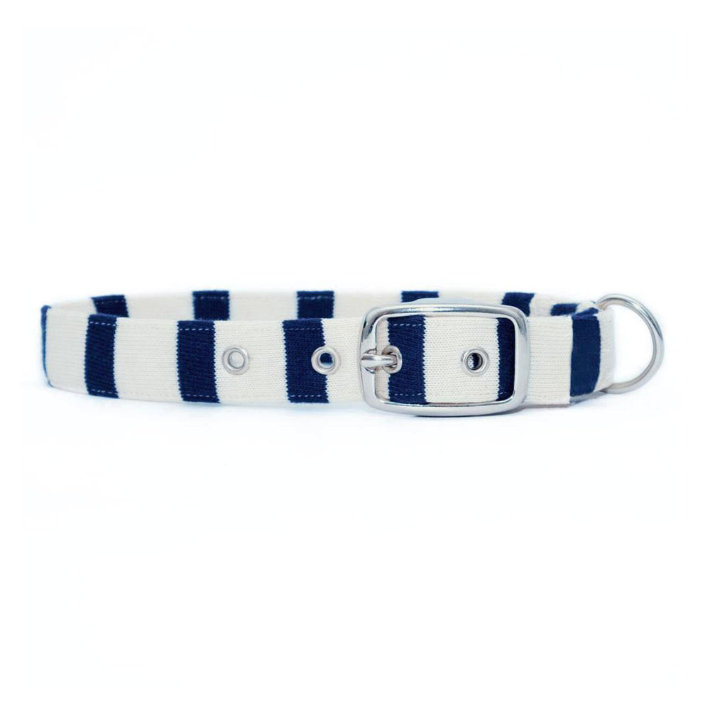 Jolie Dog Collar Algodón Breton Stripe