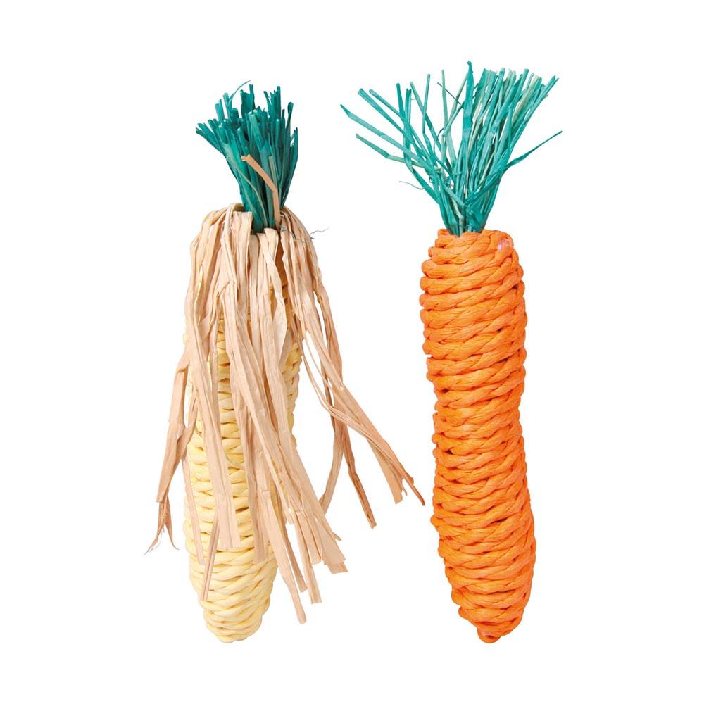 Trixie Verduras Straw Surtido