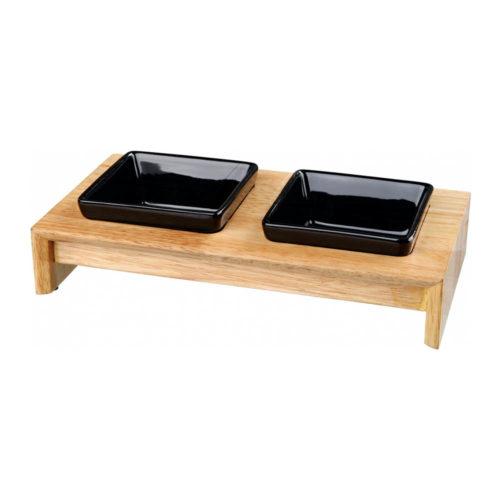 Trixie Set Bowl Wood