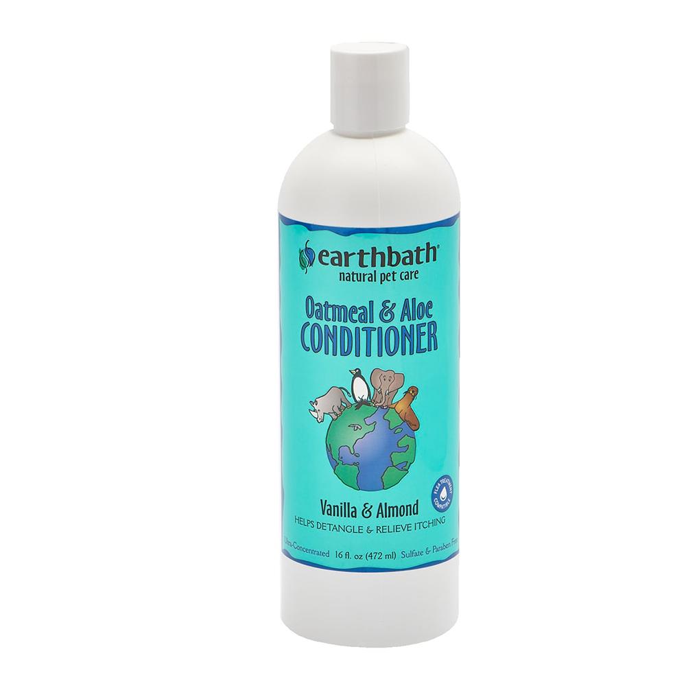 Earthbath Acondicionador Oatmeal & Aloe Vanilla & Almond 473 ml.