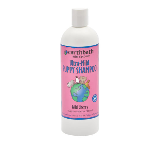 Earthbath Shampo Ultra-Mild Puppy Wild Cherry