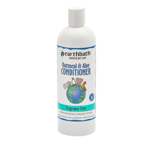 Earthbath Acondicionador Oatmeal & Aloe Fragance Free 473 ml.