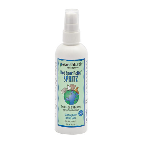 Earthbath Spray 3-In-1 Hot Spot & Itch Relief Spritz Tea Tree & Aleo Vera 237 ml.