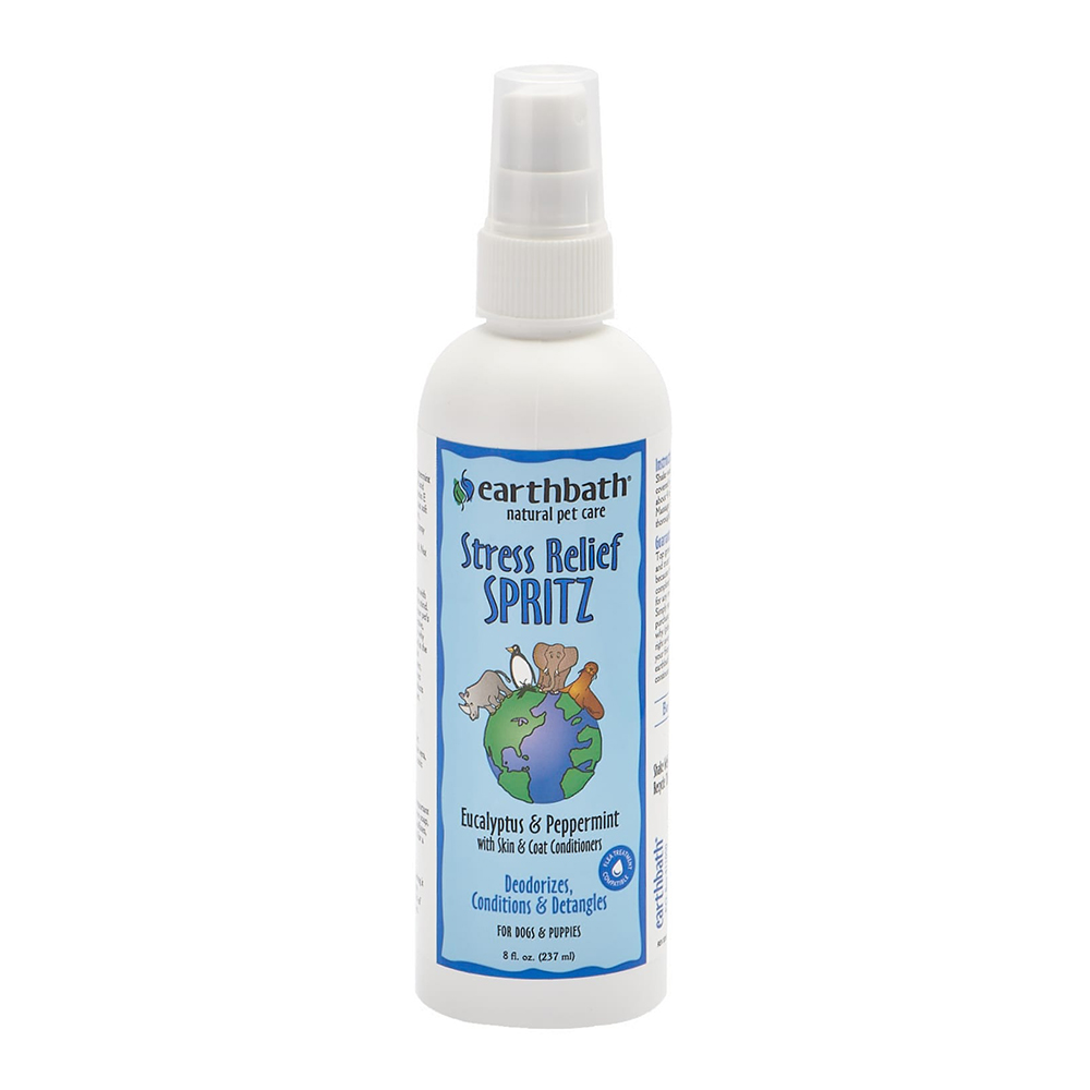 Earthbath Spray 3-In-1 Stress Relief Spritz Eucalyptus & Peppermint 237 ml.