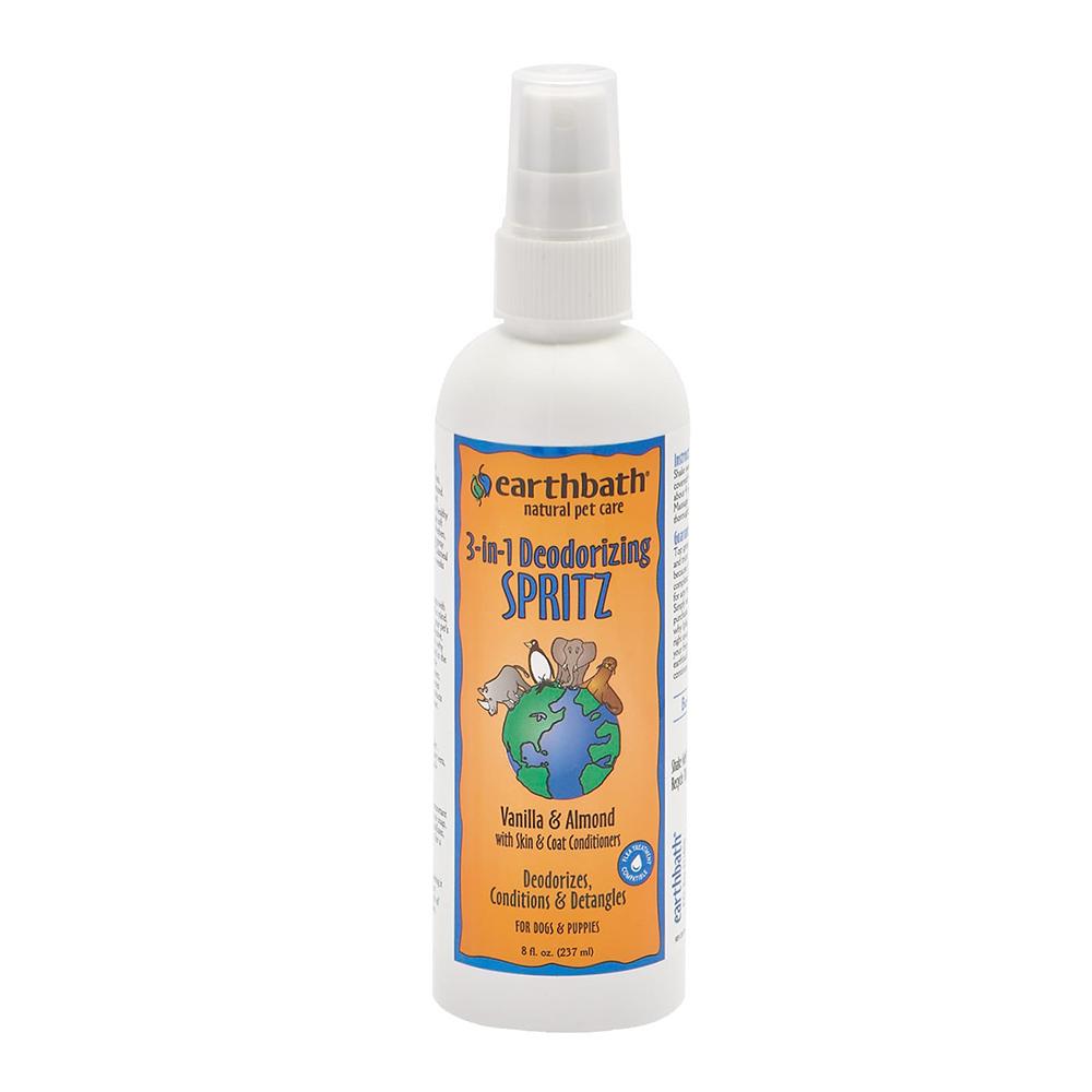 Earthbath Spray 3-In-1 Deodorizing Spritz Vanilla & Almond 237 ml.