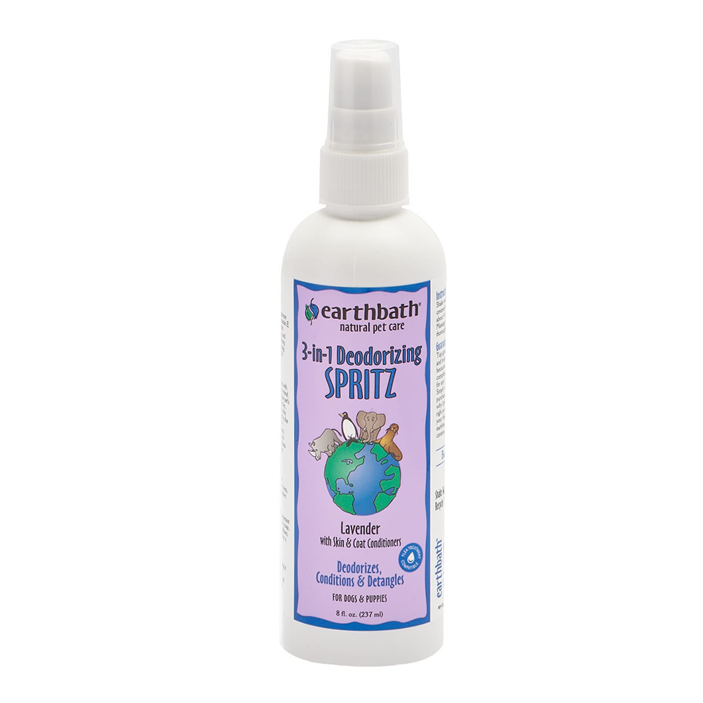 Earthbath Spray 3-In-1 Deodorizing Spritz Lavander 237 ml.