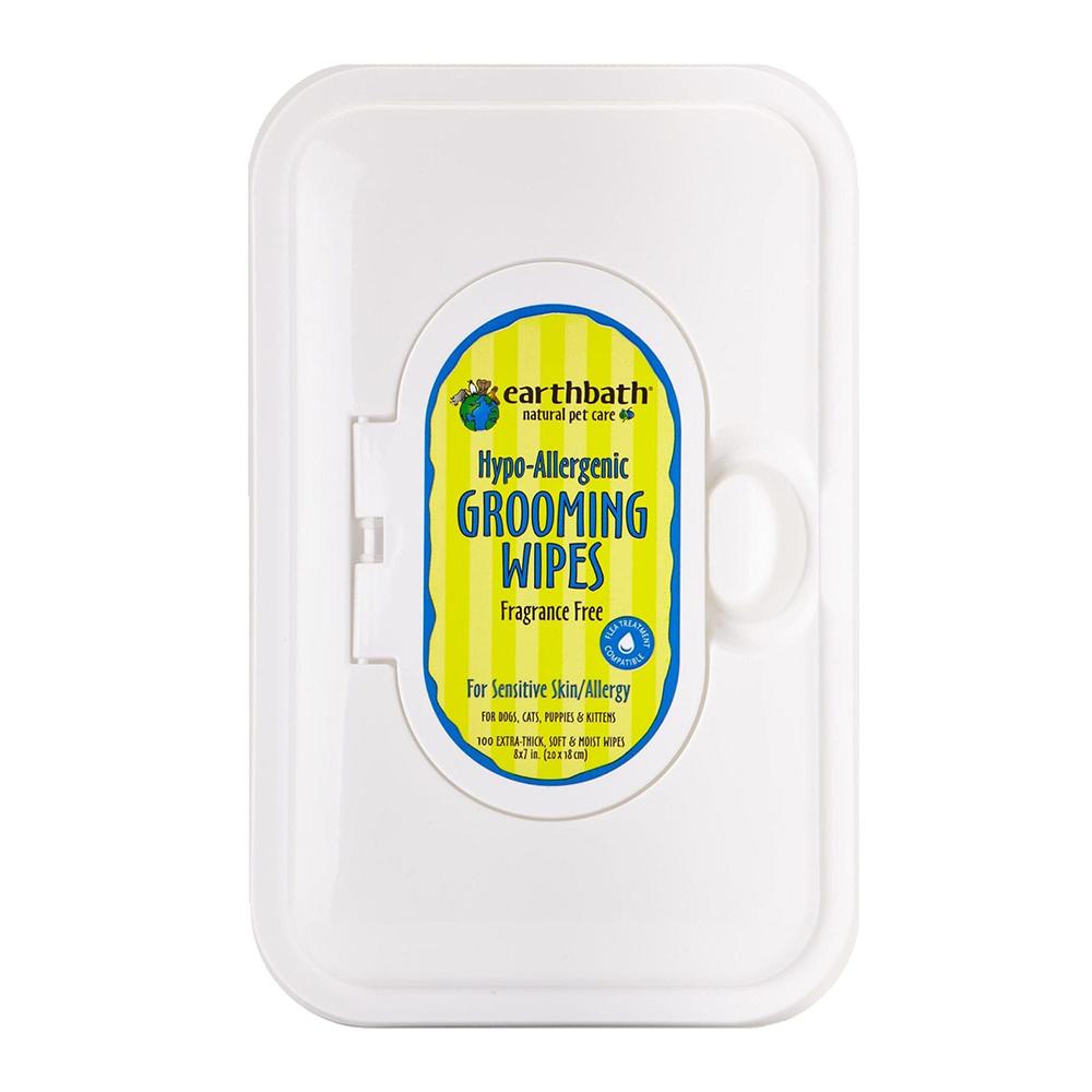 Earthbath Pañitos Hypo-Allergenic Fragrance Free 100 unid.