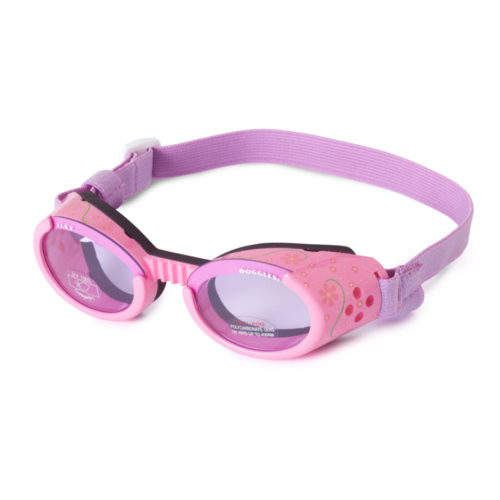 Doggles ILS Lentes Lilac Flower Frame