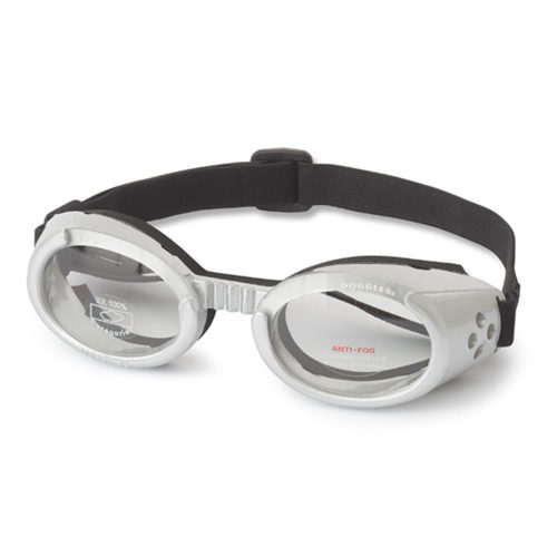 Doggles ILS Lentes Silver Frame