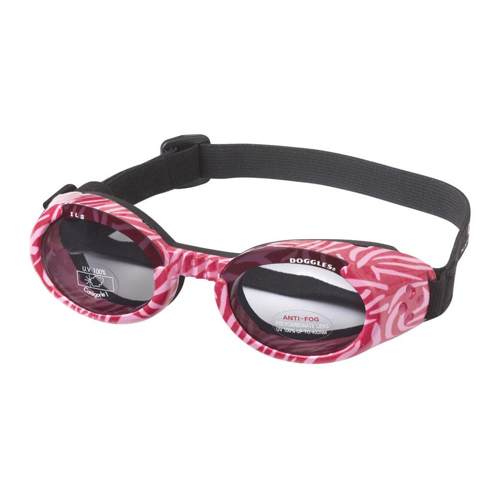 Doggles ILS Lentes Pink Zebra Frame