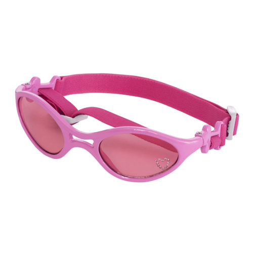 Doggles K9 Optix Rubber Shiny Pink Frame