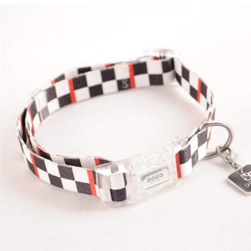 Dogo Collar Contempo Checker