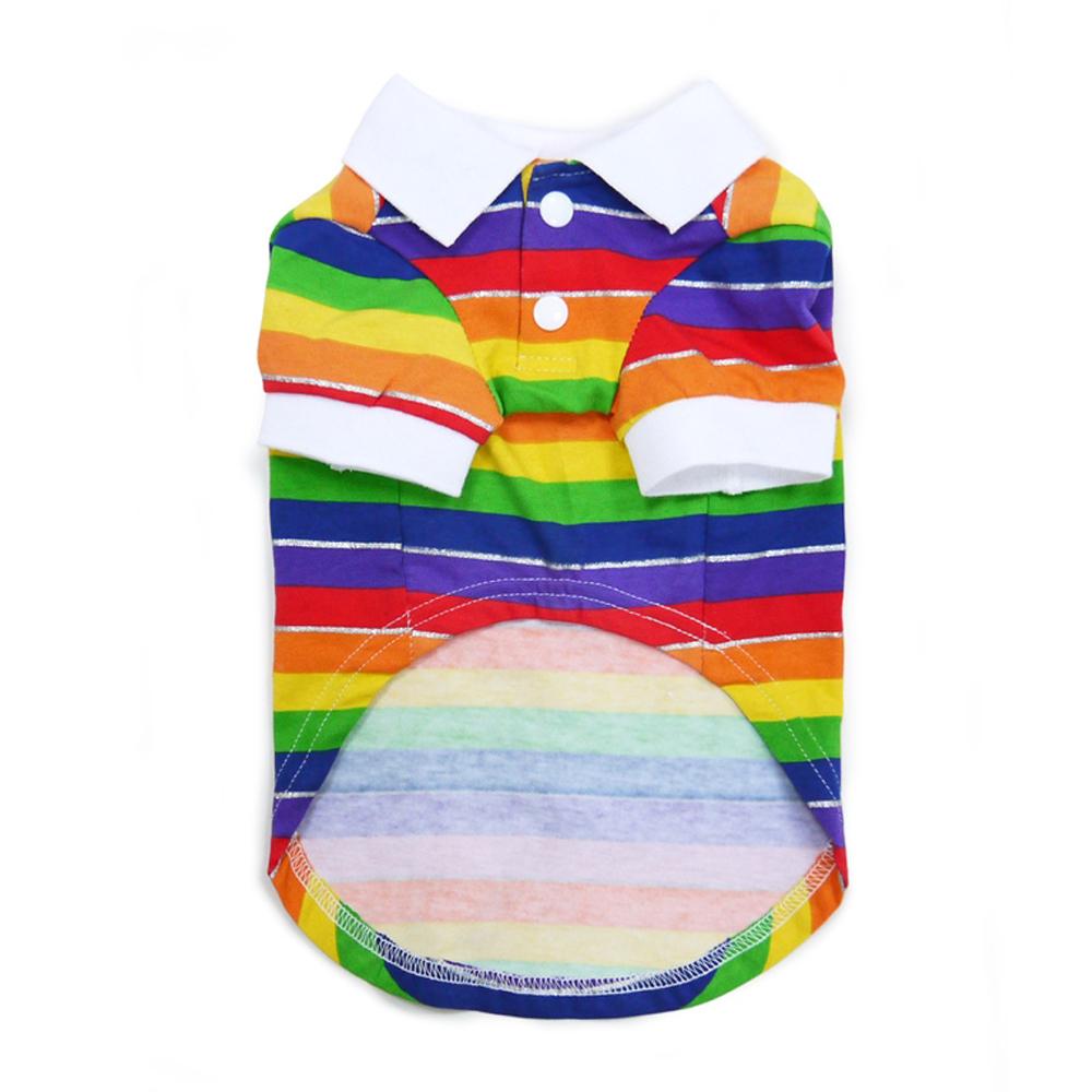 Dogo Camisa Rainbow