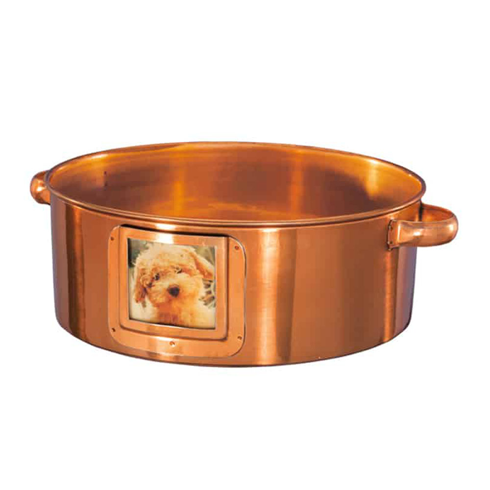 Ore Originals Bowl Photo-Gram Copper Finish