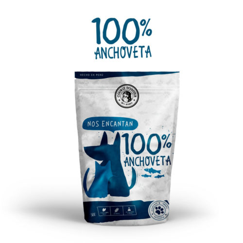 Cookie Dogster Anchoveta 50 gr.