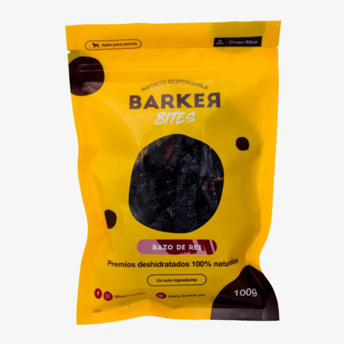 Barker Bites Bazo De Res 100 gr.