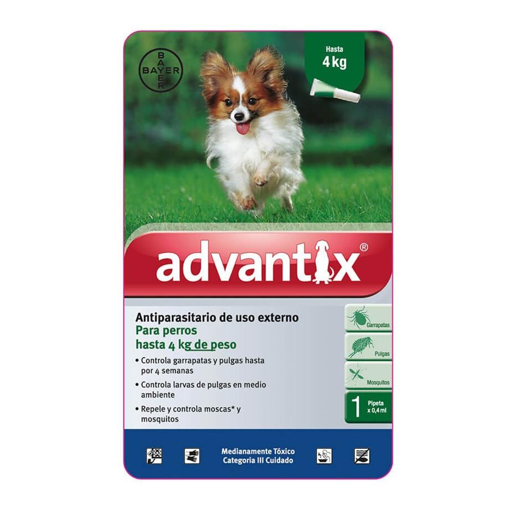 Bayer Advantix Pipeta 0-4 kg.