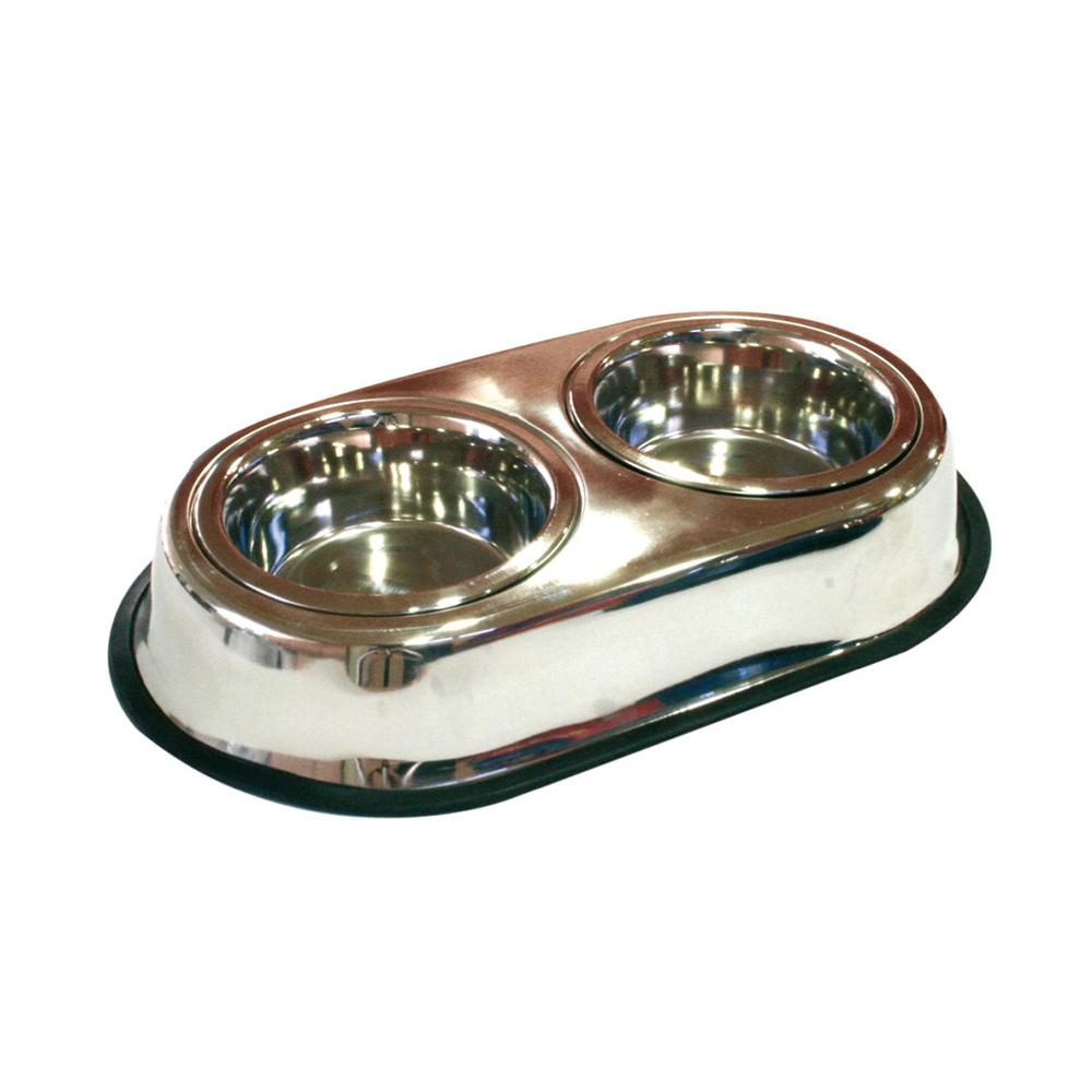 Croci Bowl Doble Steel  0.95 L