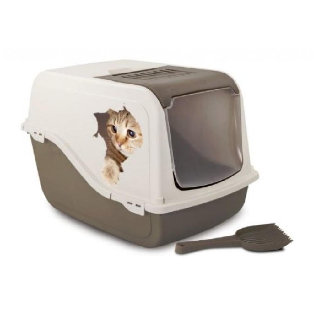 Croci Caja De Arena Morgana Playful Cat