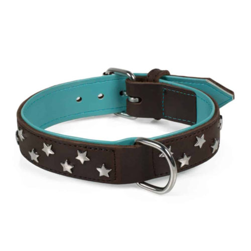 Farm Company Collar Cuero Soft Oiled Stars