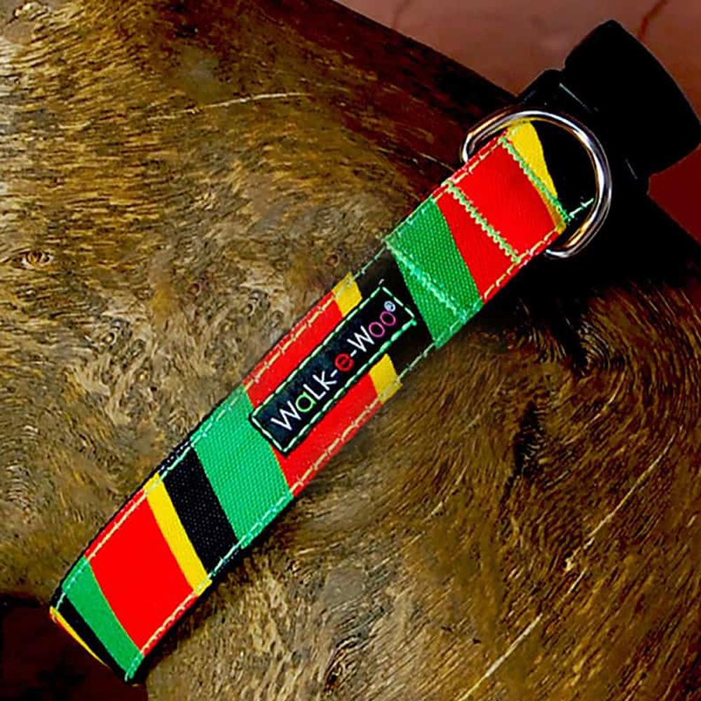 Walk e Woo Collar Striped Rasta