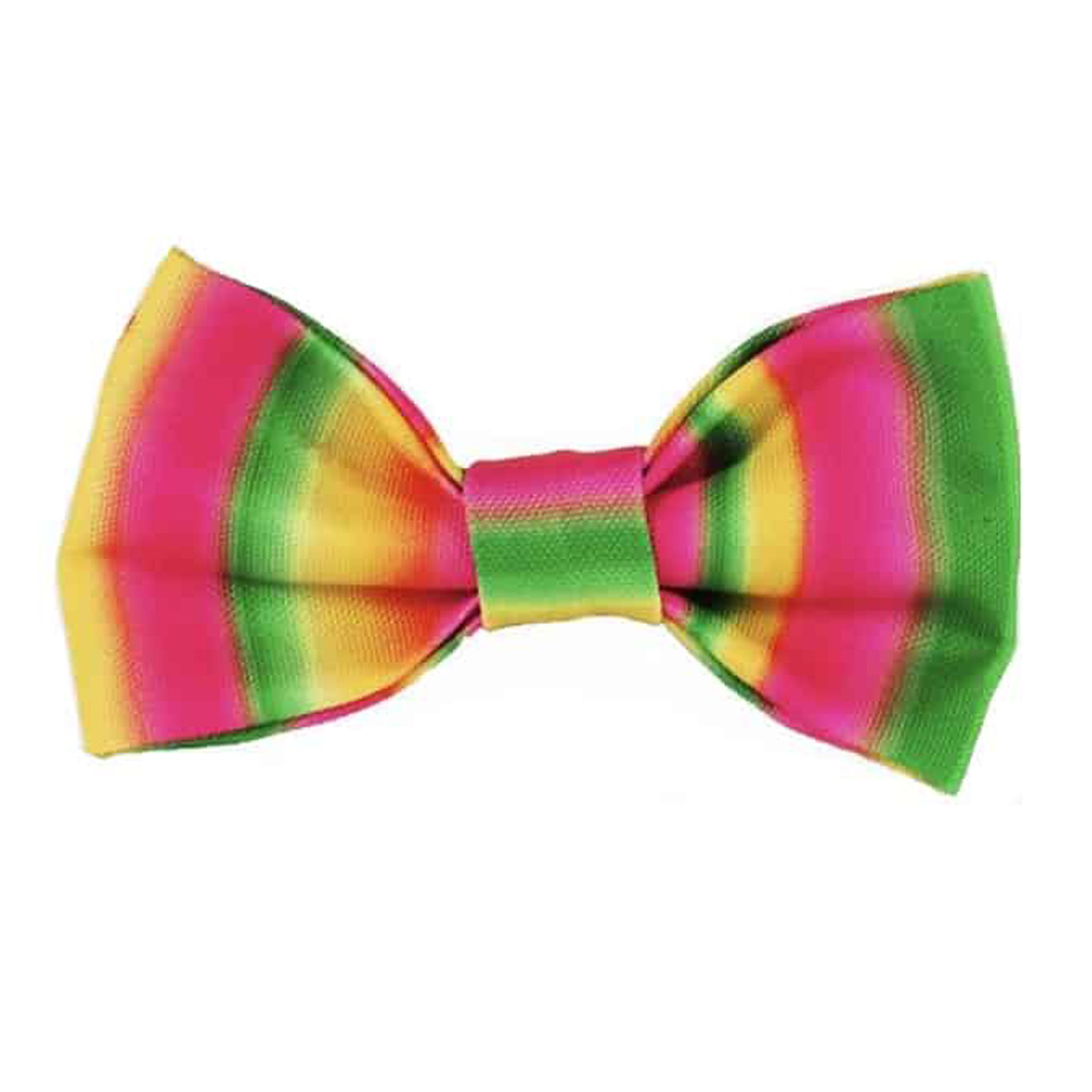 Walk e Woo Moño Tie Dye Pink/Green